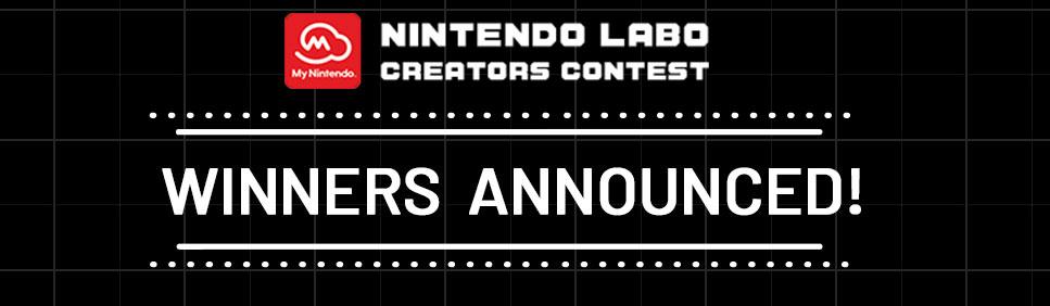 Nintendo Labo Contest Winners