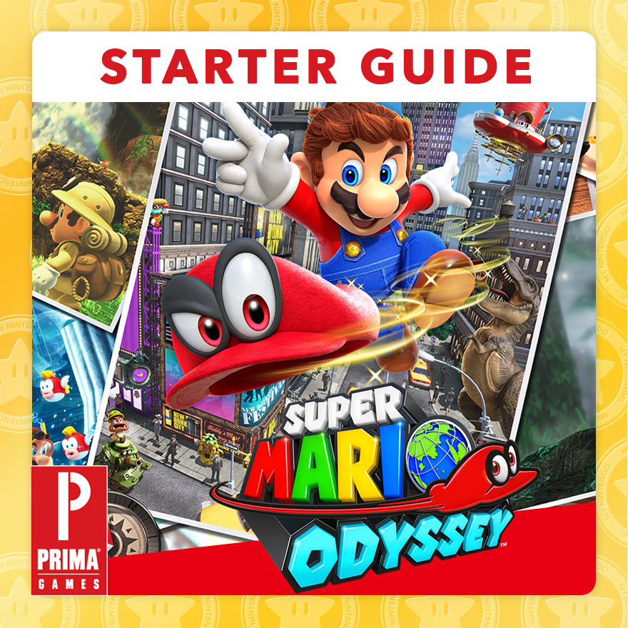Start Your Adventure Off Right With The Official Prima Super Mario
