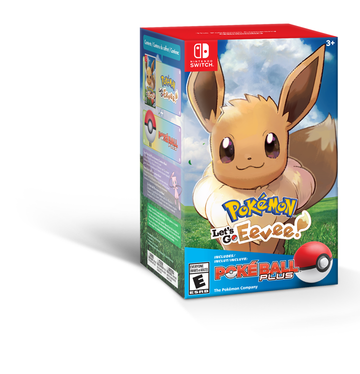 Eevee Boke ball plus bundle