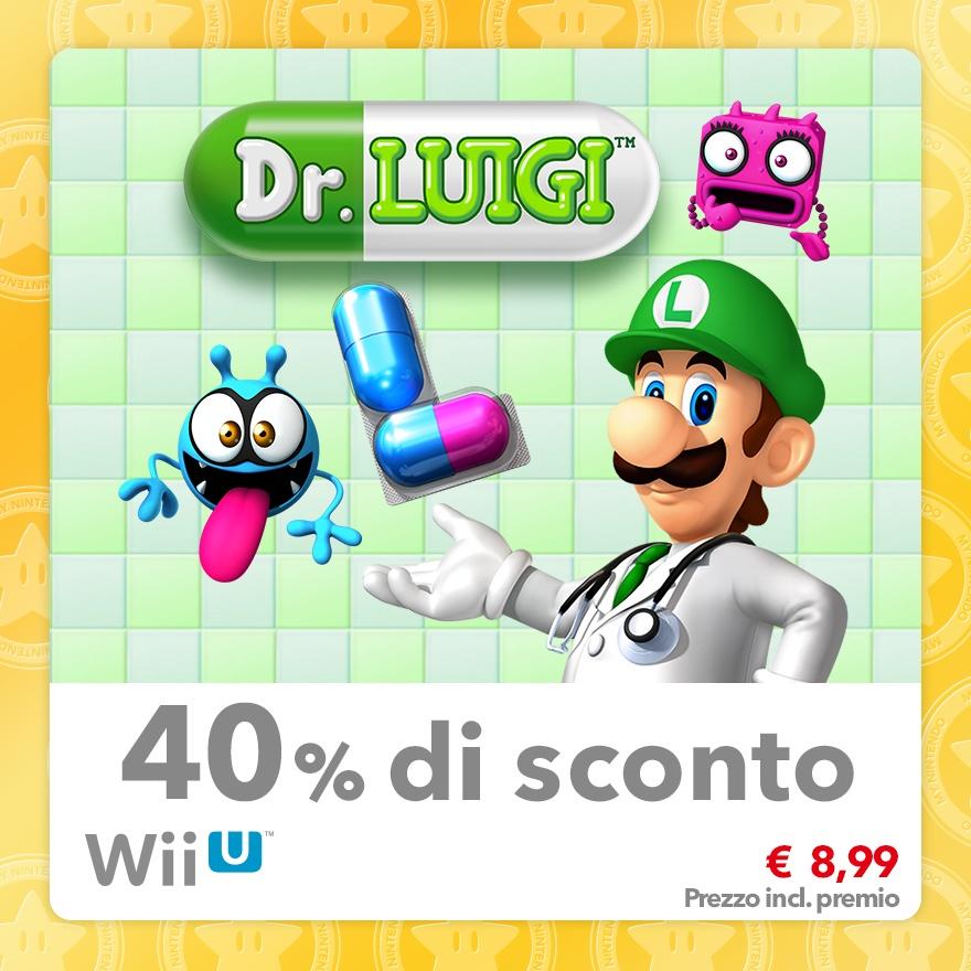 Sconto del 40% su Dr. Luigi