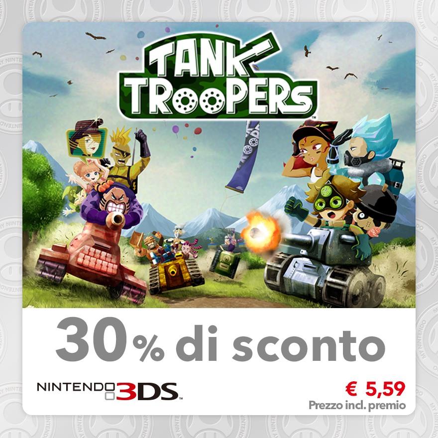 Sconto del 30% su Tank Troopers