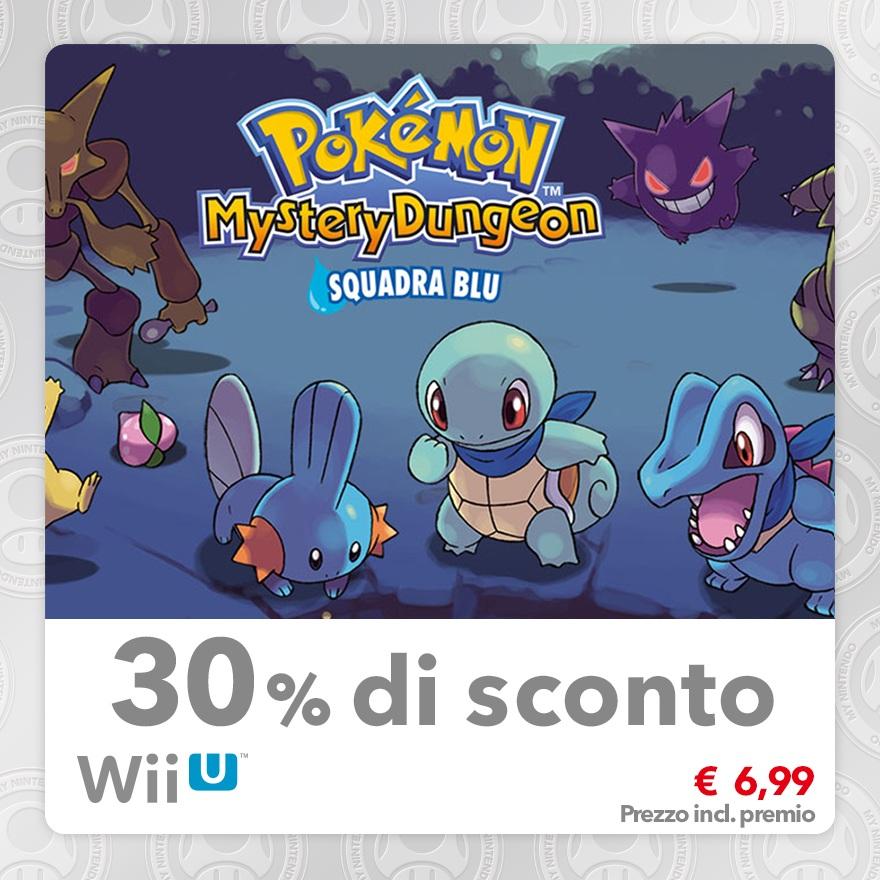 Sconto del 30% su Pokémon Mystery Dungeon: Squadra Blu