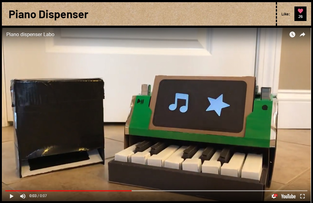 Piano Dispenser
