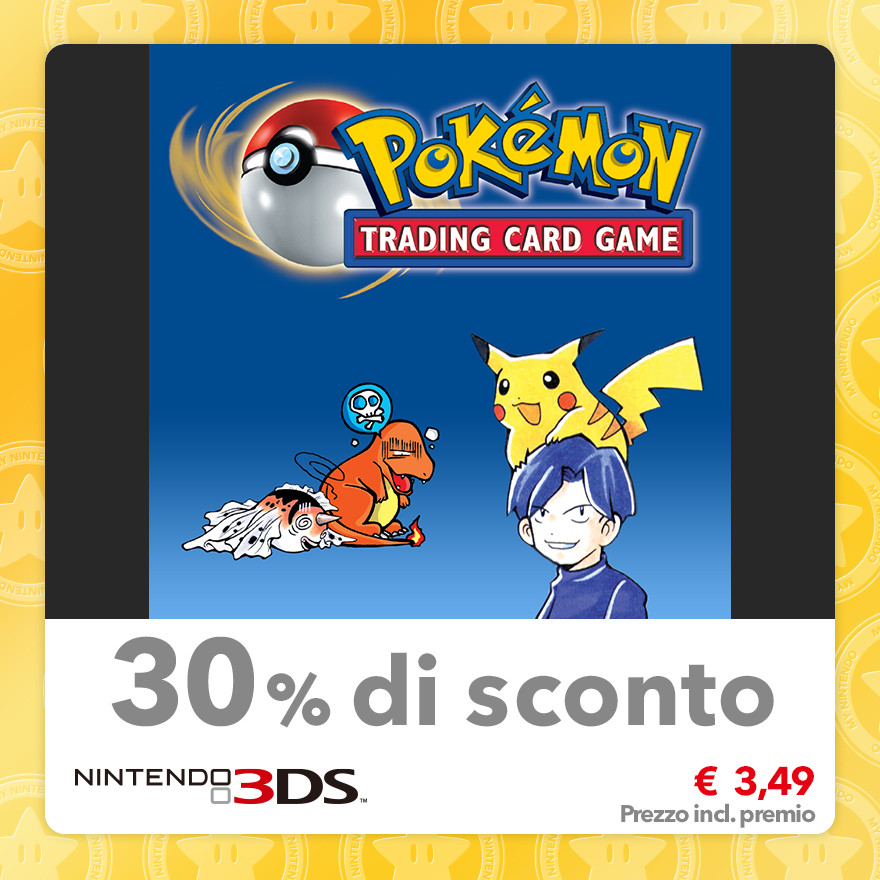 Sconto del 30% su Pokémon Trading Card Game (Virtual Console GBC)