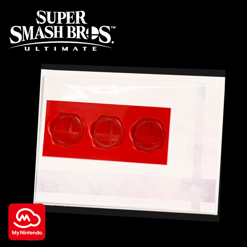 Super Smash Bros. Invitation Greeting Card Set sample