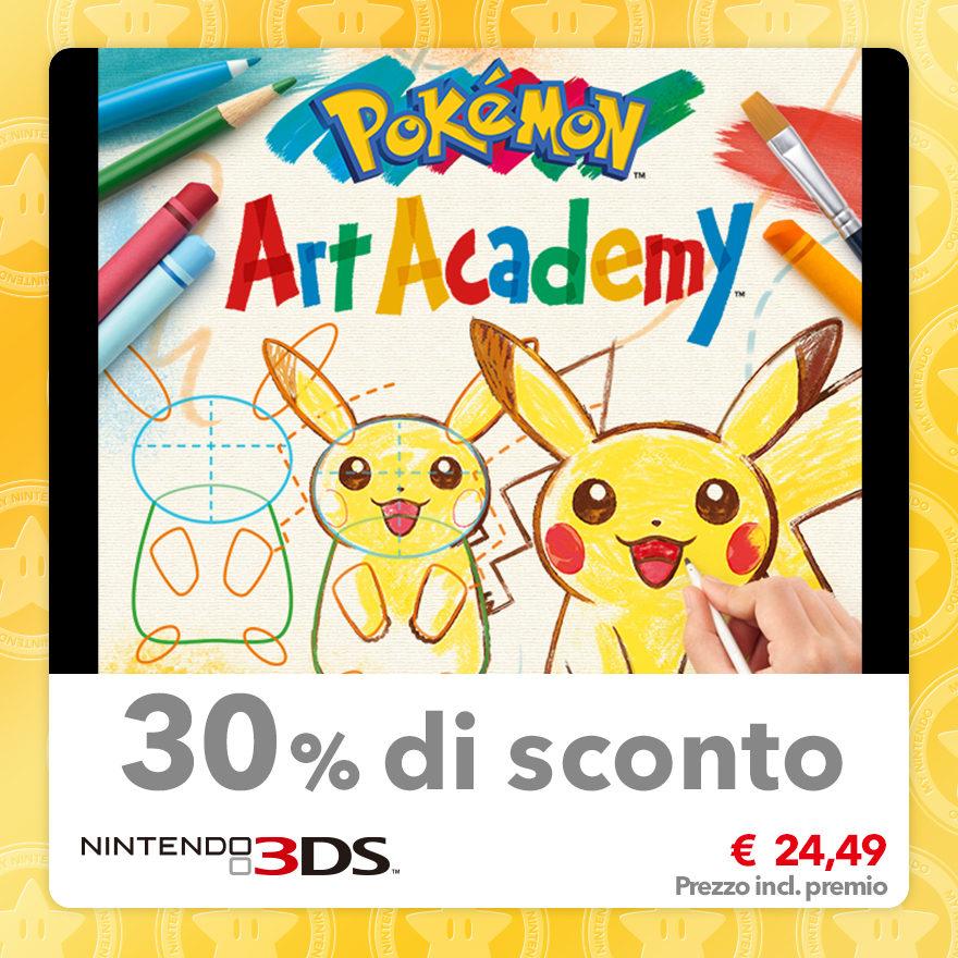 Sconto del 30% su Pokémon Art Academy