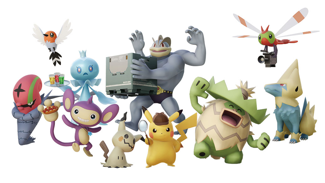 Detective Pikachu Is On The Way Nintendo Official Site