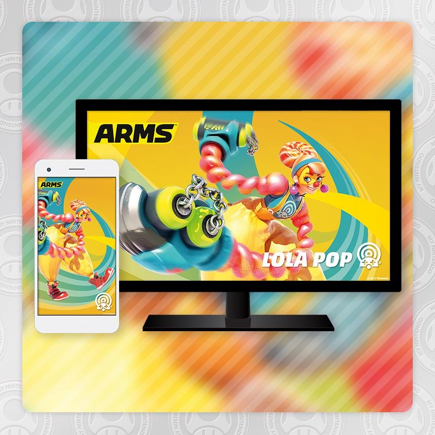 Sfondo - ARMS (Lola Pop)