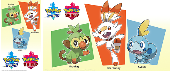 Wallpaper Pokemon Sword Pokemon Shield Rewards My Nintendo