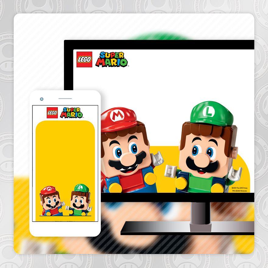 Fondo de pantalla – LEGO® Super Mario™: Mario y Luigi