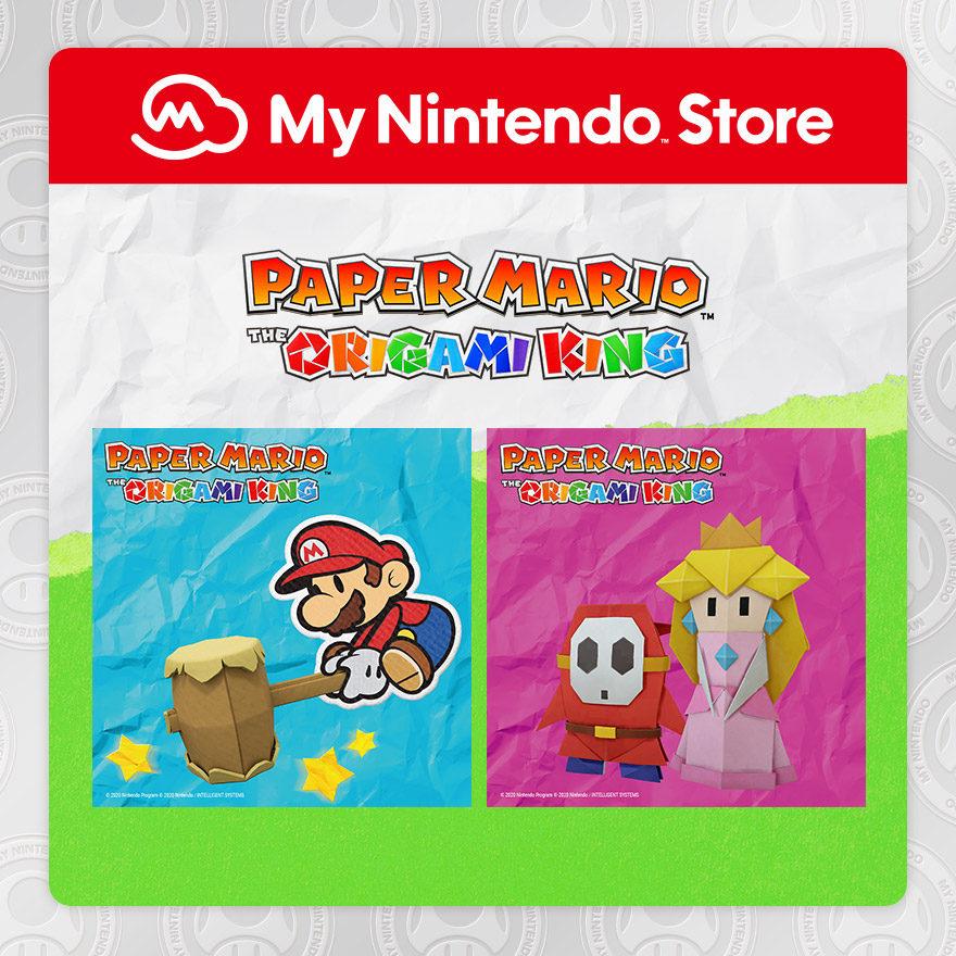 Blocchi per appunti di Paper Mario: The Origami King