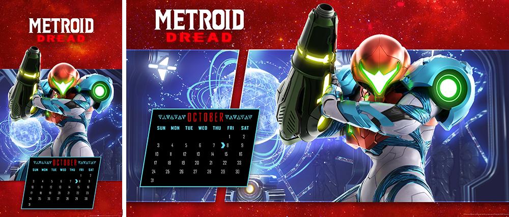 Calendario Metroid ™ Dread