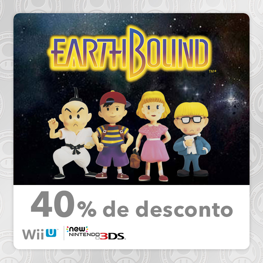 40% Discount on EarthBound (New Nintendo 3DS/Wii U