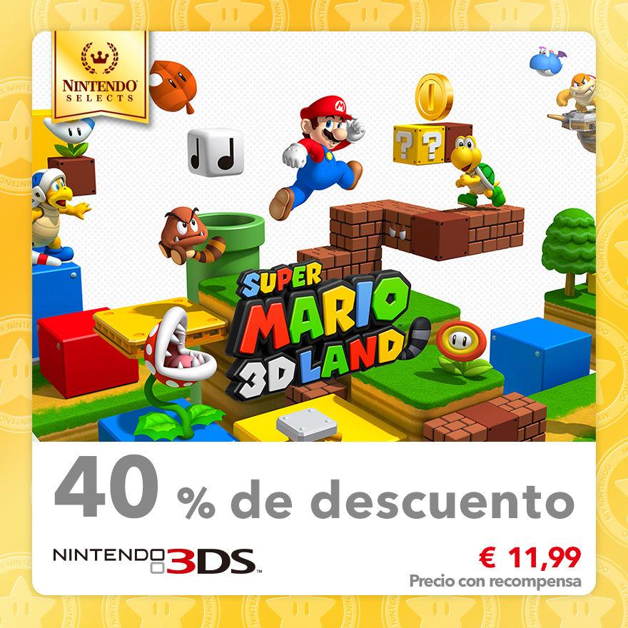 40 % de descuento en Nintendo Selects: SUPER MARIO 3D LAND