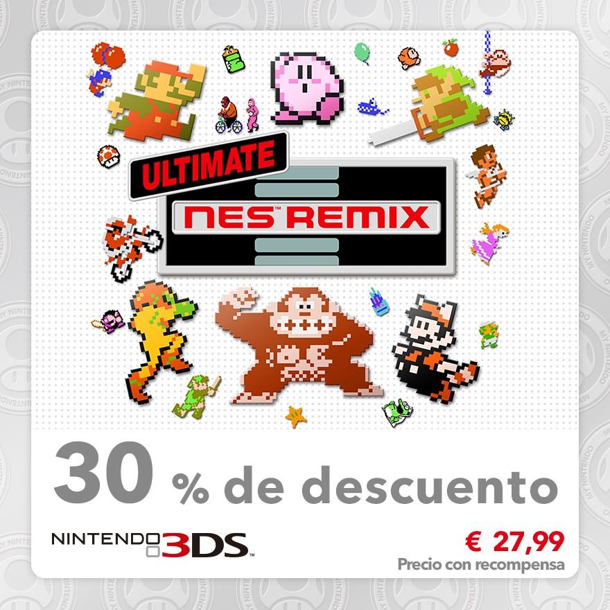 30 % de descuento en Ultimate NES Remix
