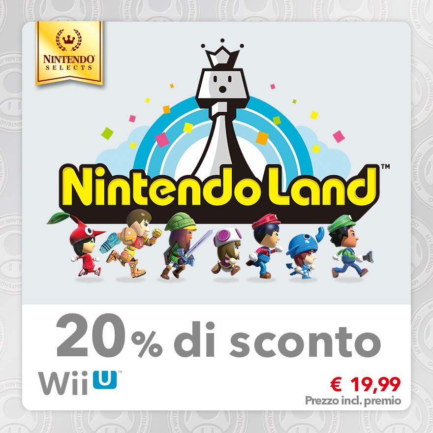 Sconto del 20% su Nintendo Selects: Nintendo Land