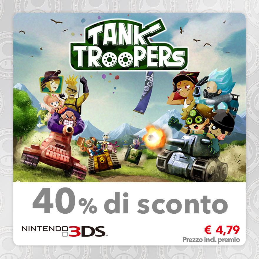 Sconto del 40% su Tank Troopers