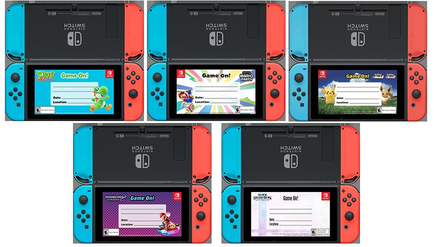 Mario Day cards >