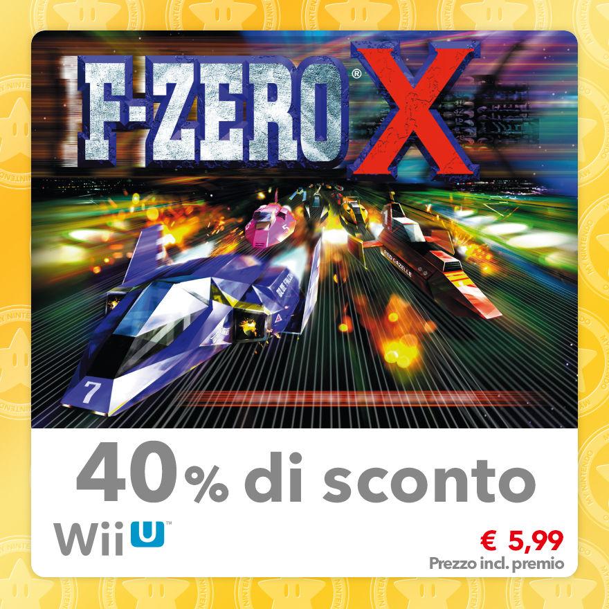 Sconto del 40% su F-Zero X (Virtual Console N64)