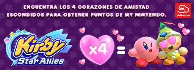 Kirby Star Allies - My Nintendo mission