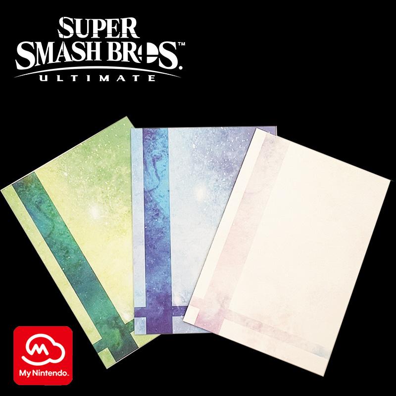 Super Smash Bros. Invitation Greeting Card Sets sample