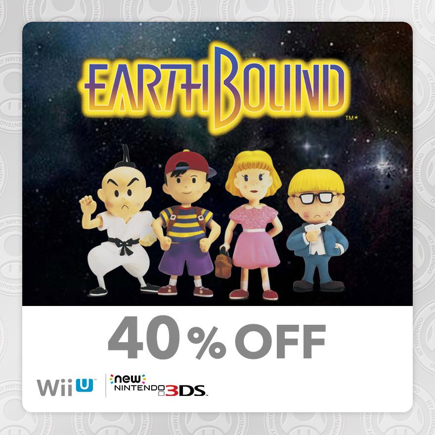 40% Discount on EarthBound (New Nintendo 3DS/Wii U) | Rewards | My