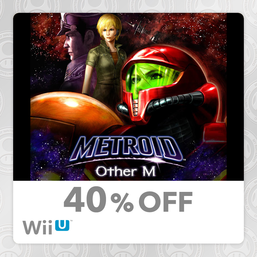 40% Discount on Metroid™: Other M (Wii U)