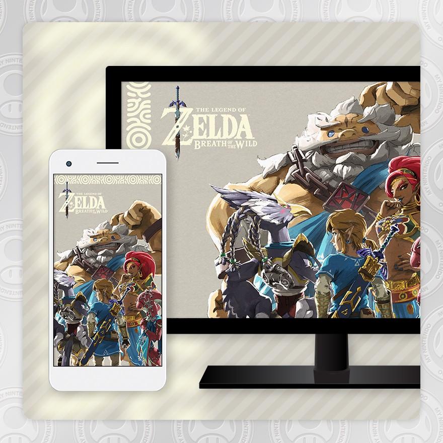 Sfondo - The Legend of Zelda: Breath of the Wild (Ballata dei campioni)