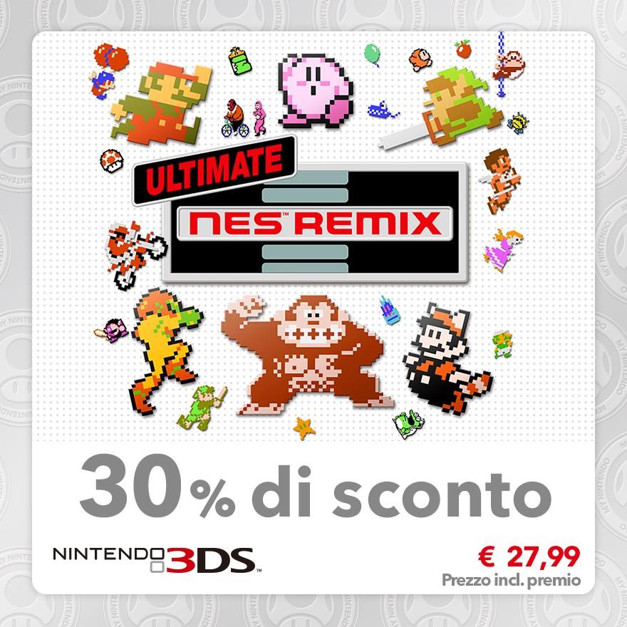 Sconto del 30% su Ultimate NES Remix