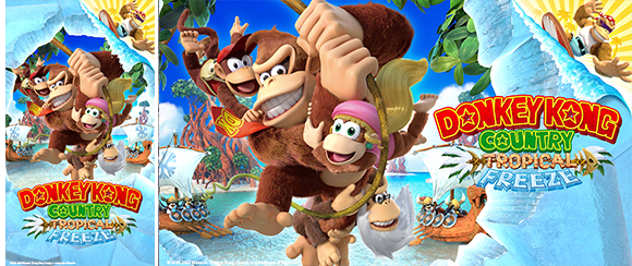 Wallpaper Donkey Kong Country Tropical Freeze