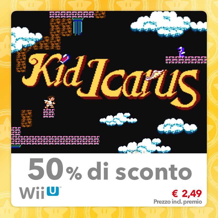 Sconto del 50% su Kid Icarus (Virtual Console NES)
