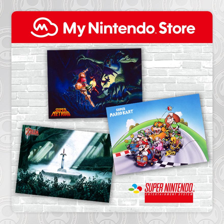 Set di poster Super NES di alta qualità