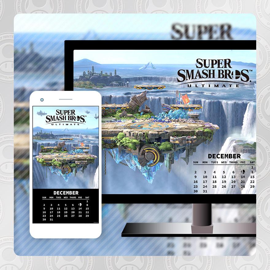 SSBU December Calendar