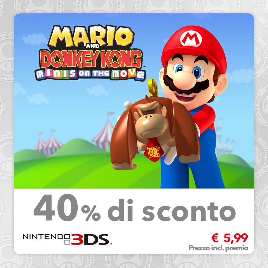 Sconto del 40% su Mario and Donkey Kong: Minis on the Move