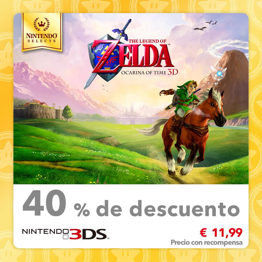40 % de descuento en Nintendo Selects: The Legend of Zelda: Ocarina of Time 3D