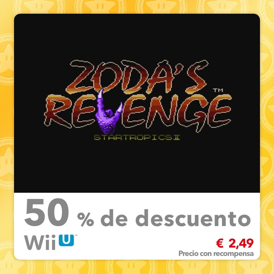 50 % de descuento en Zoda's Revenge: StarTropics II (Consola virtual NES)