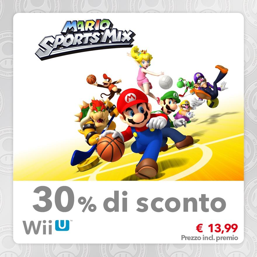 Sconto del 30% su Mario Sports MIX