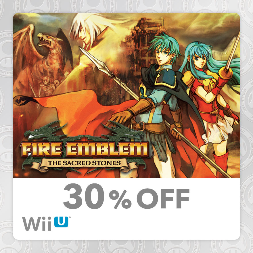 30% Discount on Fire Emblem™: The Sacred Stones (Wii U)