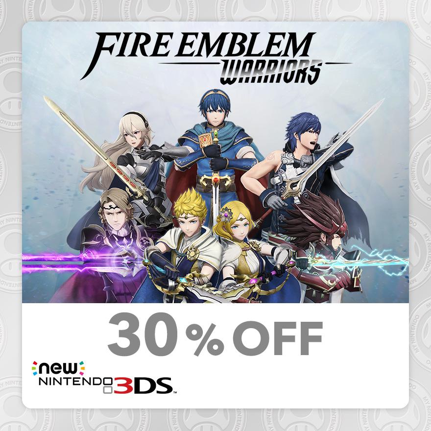 30% Discount on Fire Emblem Warriors (New Nintendo 3DS)