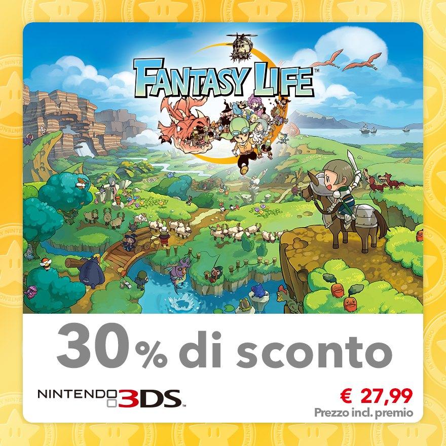 Sconto del 30% su Fantasy Life