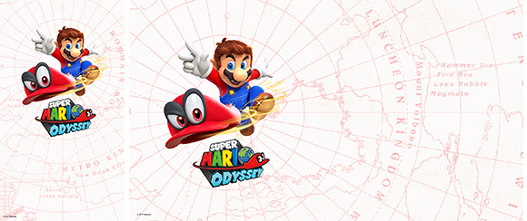 Wallpaper Super Mario Odyssey White Rewards My Nintendo