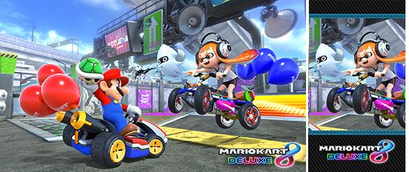 Wallpaper Mario Kart 8 Deluxe Inkling Nagrady My