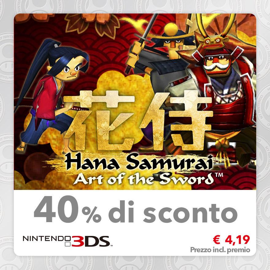 Sconto del 40% su Hana Samurai: Art of the Sword