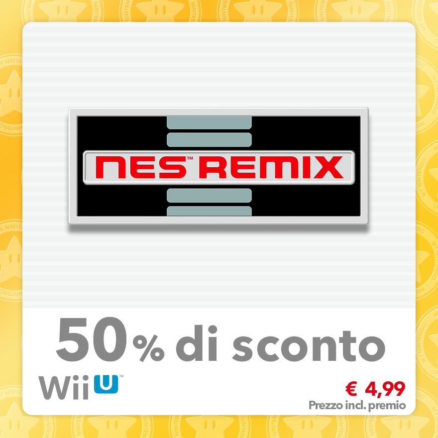 Sconto del 50% su NES Remix