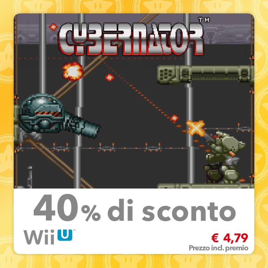 Sconto del 40% su Cybernator (Virtual Console SNES)