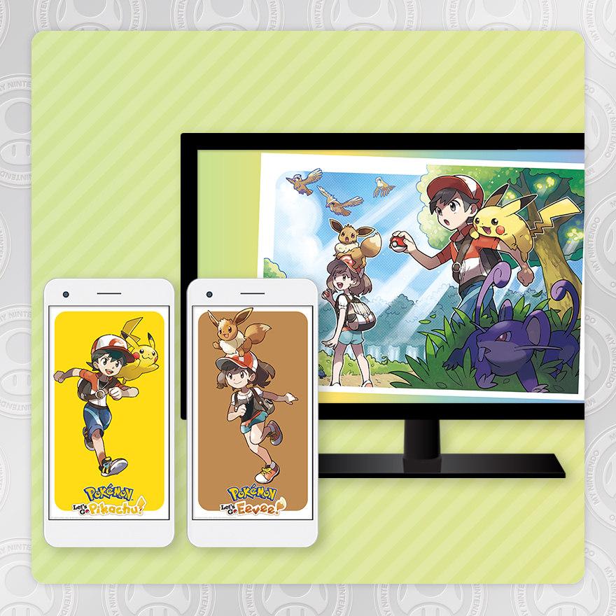 Sfondo - Pokémon: Let's Go, Pikachu! Pokémon: Let's Go, Eevee!