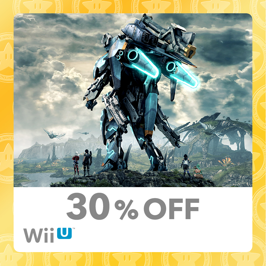 30% Discount on Xenoblade Chronicles™ X (Wii U)