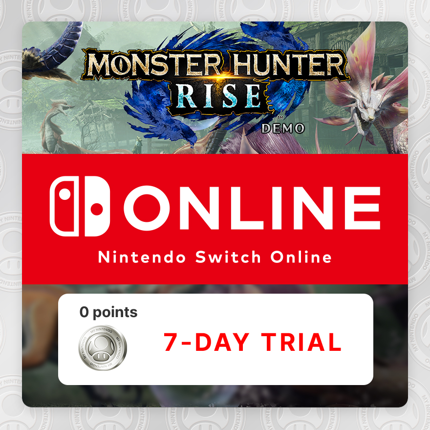 Limited Time Offer Nintendo Switch Online 7 Day Trial No Points Rewards My Nintendo