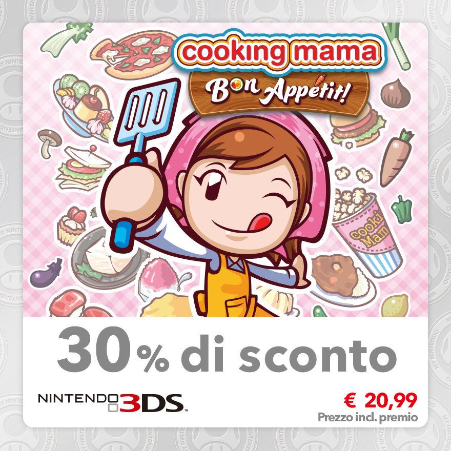 Sconto del 30% su Cooking Mama: Bon Appétit!