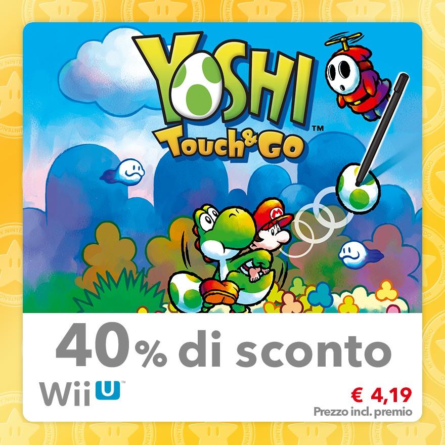 Sconto del 40% su Yoshi Touch & Go (Virtual Console DS)